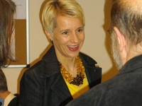 Helga Stevens op de lentebrunch